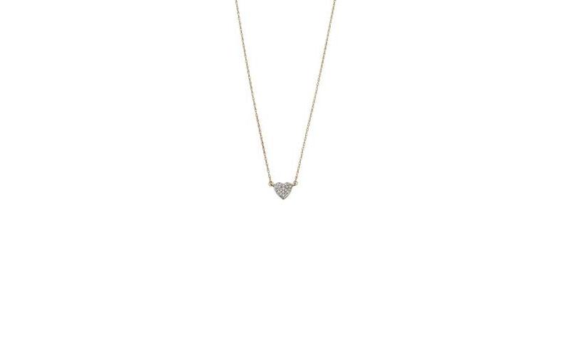 9ct-Gold-Pave-set-Diamond-heart-necklace-142-50